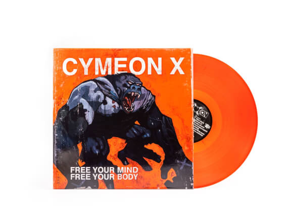 "Cymeon X ""Free Your Mind Free Your Body""  LP"